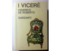 i vicerè di Federico De Roberto 1977 Garzanti editore